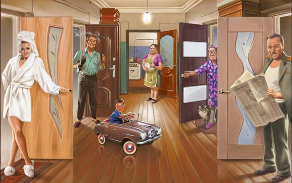 Основные достоинства коммунальной квартиры